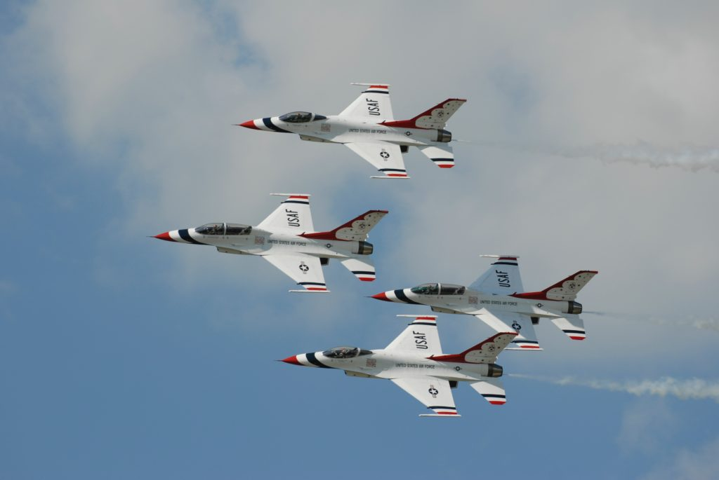 Four Fighter planes, can be subject to a defense contracting qui tam.