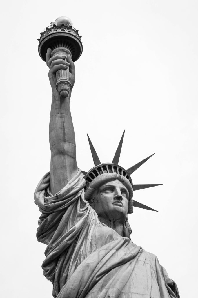 Statue of Liberty - in the use you can file a whistleblower case.