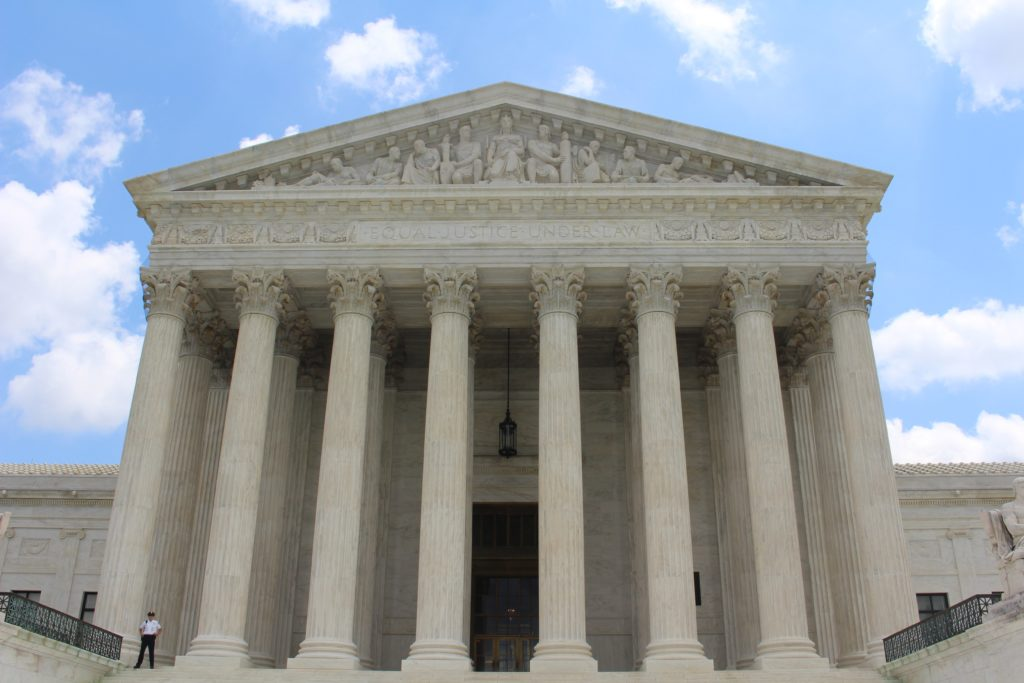 Court house where a qui tam lawyer files False Claims Act complaints.